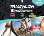 affiche triathlon des entreprises