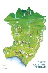 Carte illustrée